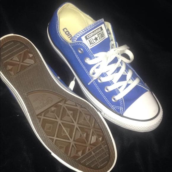 db05da0ed7ab BRAND NEW SNORKEL BLUE CONVERSE SNEAKERS